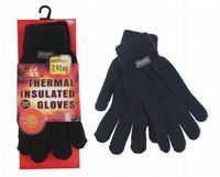 2.4 tog Ladies Thermal knitted One size Gloves